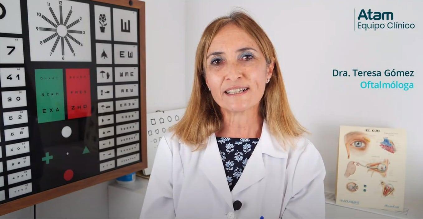 Oftalmóloga de Equipo Clínico hablando de la conjuntivitis